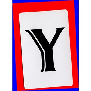 Y Cards - Royal - Close Up / Gaff / Cards Magic Trick