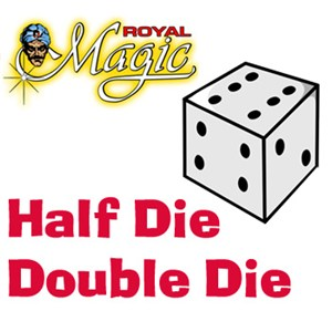 Half Die Double Die - Royal - Beginner / Magic trick