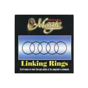 "Linking Rings - 5""- Royal"