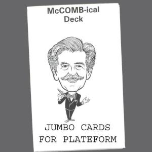 McCombical Deck - Royal - Jumbo