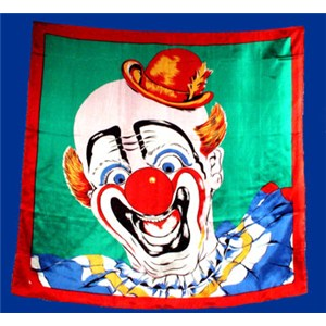 "Silk - Clown 36"" - Royal - Stage Magic Trick"