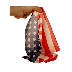 American Flag- Royal- Pure Silk Silks / Magic Trick