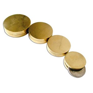 Nested Coin Box - Brass