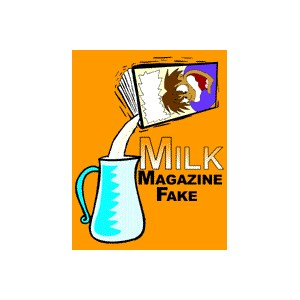 Milk Magazine Fake - Stage / Parlor / Magic trick