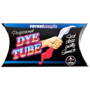 Dye Tube - Silk / Close Up / Stage / Parlor Magic Trick