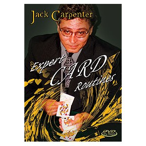 Expert Card Routines DVD - Jack Carpenter