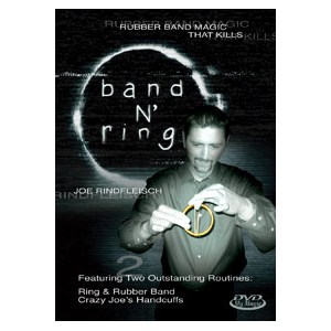 Band N' Ring DVD - Joe Rindfleisch - Close Up / Street / Stage / DVD Magic Trick