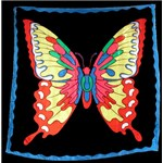 "Silk - Butterfly 36"" - Royal"