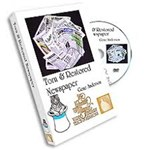 Torn & Restored Newspaper DVD - Greater Magic