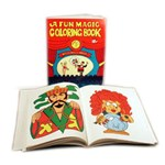 Coloring Book - Magic - BLANK- Royal