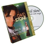 Basic Coin Magic Vol. 1 DVD by David Stone