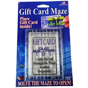 Gift Card Maze Fun Incorporated