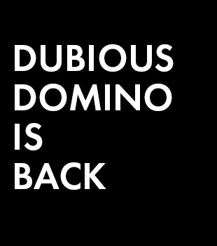 dubious is back side