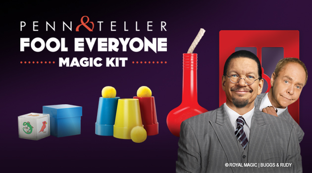 penn teller set kit