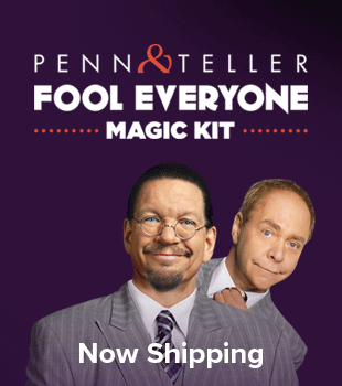 penn teller magic kit set ampersand