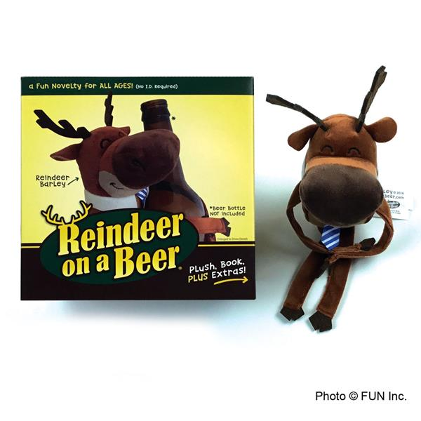 Reindeer On A Beer