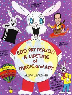 Edd Patterson A Lifetime of Magic and Art Book w/DVD