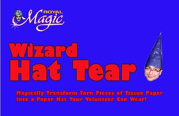 Hat Tear - Wizard