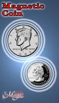Magnetic Half Dollar