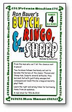 Butch, Ringo and the Sheep