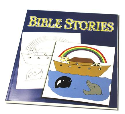 Bible Stories Coloring Book - 3 Way