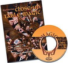 Close-up Table Magic - Karl Norman - DVD