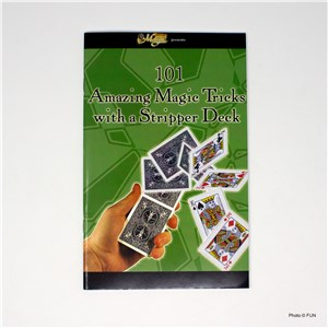 101 Tricks with a stripper deck booklet front