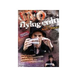 UFO Flying Coin DVD - Andy Duroe