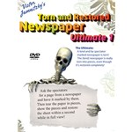 Torn and Restored Newspaper by Victor Jamnitzky
