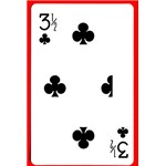 3 1/2 of Clubs - Royal